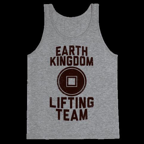 Earth Kingdom Lifting Team Tank Top