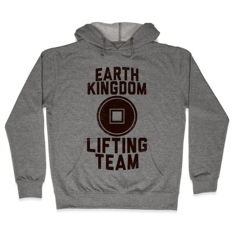 Earth Kingdom Lifting Team Hooded Sweatshirt