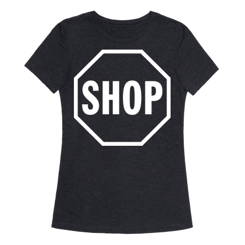 Human Stop And Shop Clothing Tee