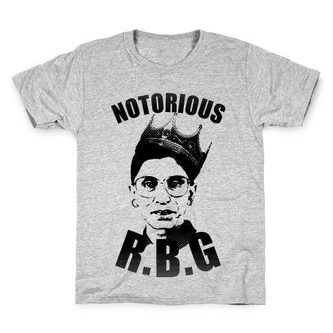 Notorious R.B.G. Kids T-Shirt