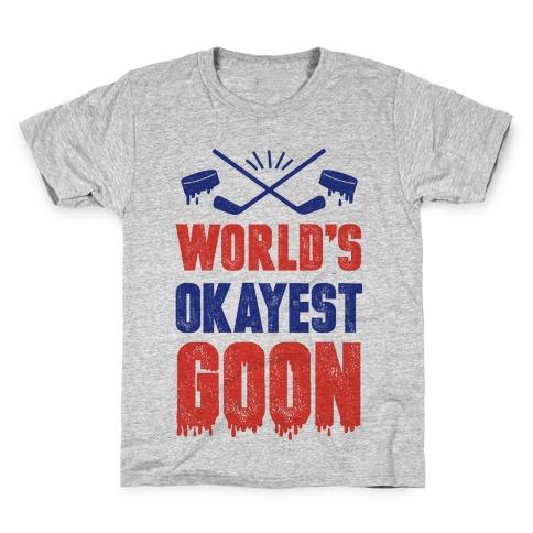 World's Okayest Goon Kids T-Shirt