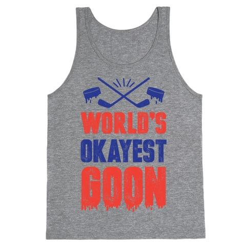 World's Okayest Goon Tank Top