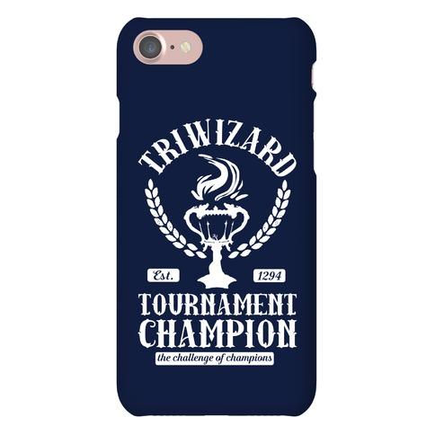 Triwizard Tournament Champion Phone Case