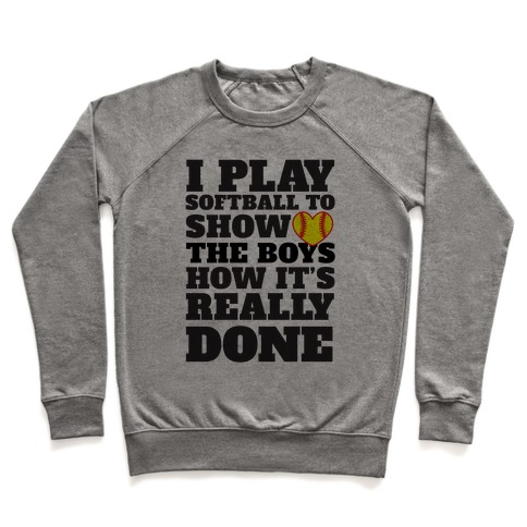 Show The Boys Pullover