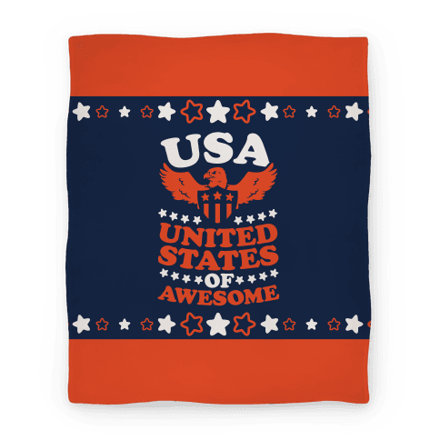 United States of Awesome (Blanket) Blanket