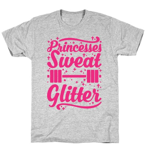 Princesses Sweat Glitter T-Shirt