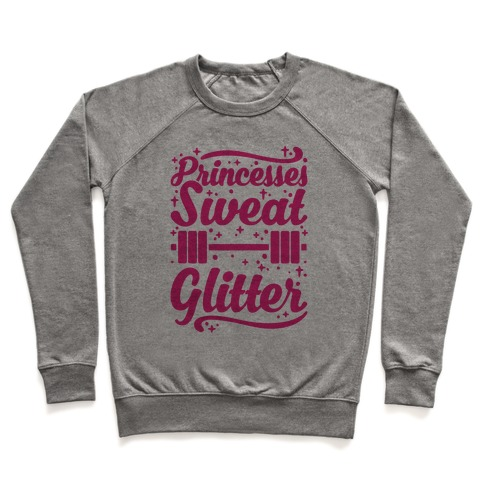 Princesses Sweat Glitter Pullover