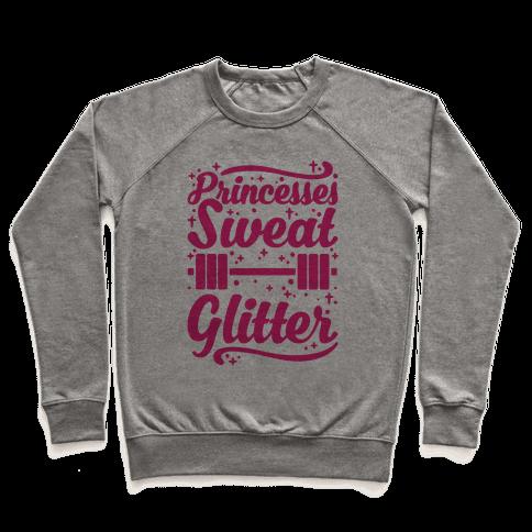 Princesses Sweat Glitter Pullover