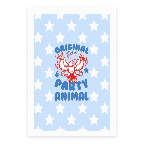 Original Party Animal Poster