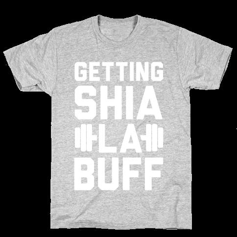 Getting Shia La Buff Mens T-Shirt