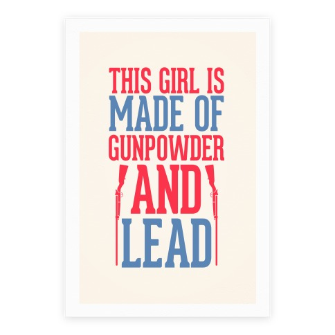 Gunpowder and Lead Poster