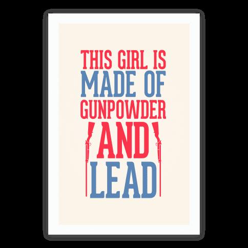 Gunpowder and Lead Poster