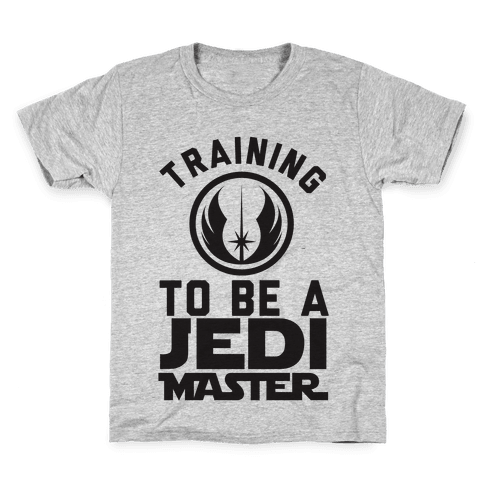 Training To Be A Jedi Master Kids T-Shirt