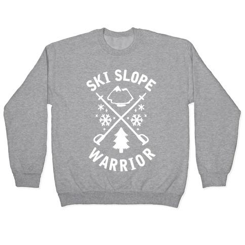 Ski Slope Warrior Pullover
