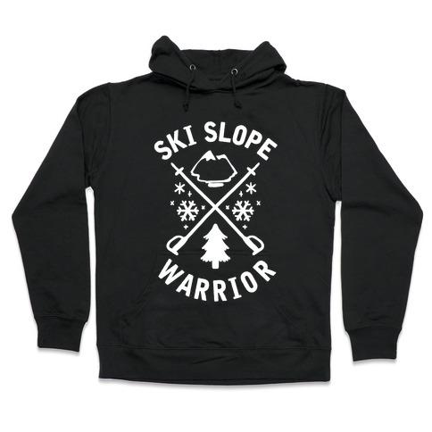 Ski Slope Warrior Hooded Sweatshirt
