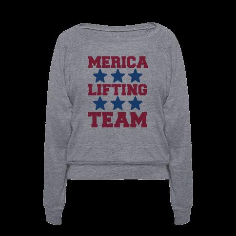 Merica Lifting Team T Shirts Tank Tops Sweatshirts And