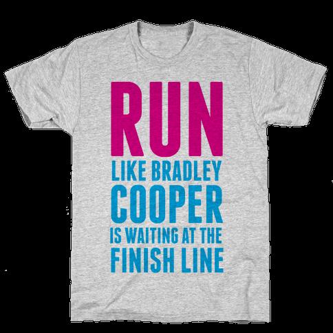 Run Like Bradley Cooper Mens T-Shirt