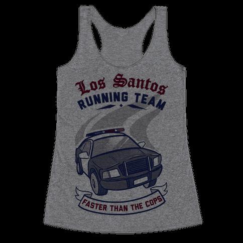 Los Santos Running Team Racerback Tank Top