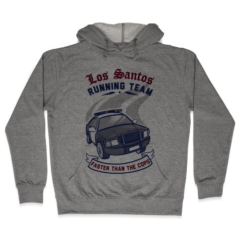 Los Santos Running Team Hooded Sweatshirt