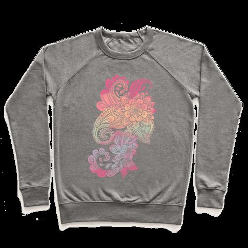 Rainbow Lotus Henna Inspiration Pullover