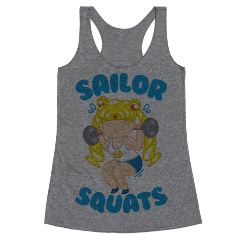Sailor Squats Racerback Tank Top