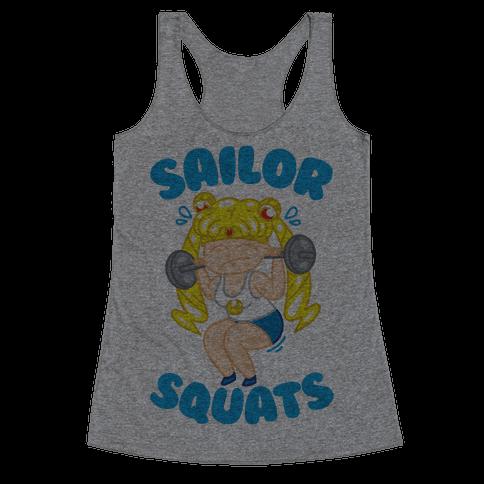 Sailor Squats