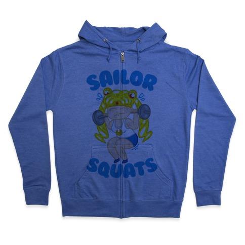 Sailor Squats Zip Hoodie