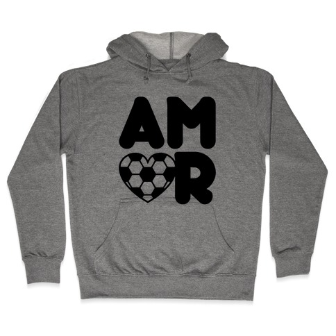 Soccer Amor Hooded Sweatshirt