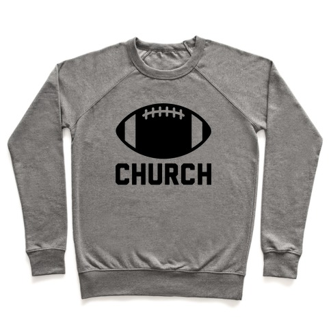 Football Church Pullover