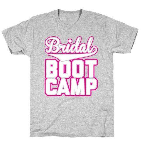 Bridal Boot Camp Mens T-Shirt
