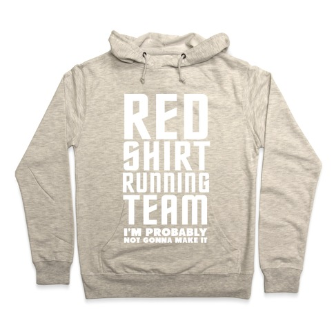 4ab024c25 Red Shirt Running Team Hoodie | Activate Apparel