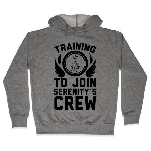 Training to Join Serenity's Crew Hooded Sweatshirt