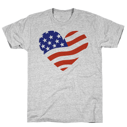 American Flag Mens T-Shirt