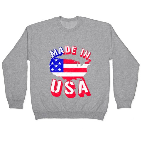 Made In USA (Patriotic Tank) Pullover