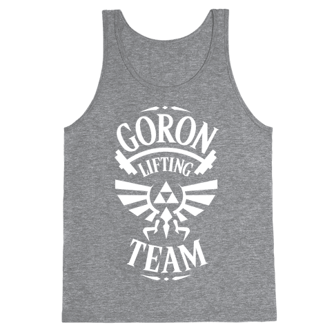Goron Lifting Team Tank Top