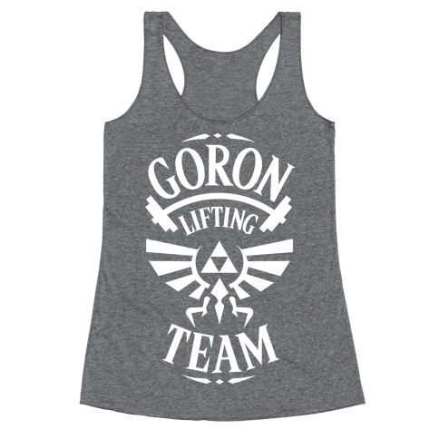 Goron Lifting Team Racerback Tank Top