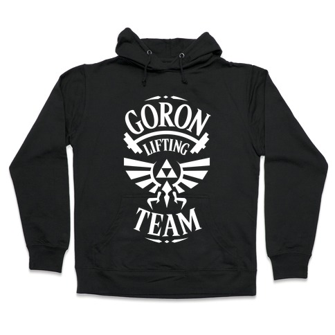 Goron Lifting Team Hooded Sweatshirt