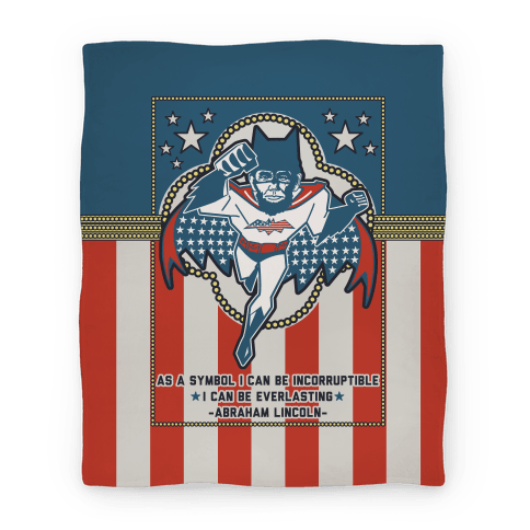 Batman Lincoln (Blanket) Blanket