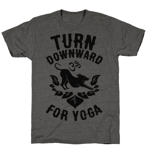 Turn Downward For Yoga