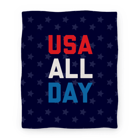 USA All Day (Blanket) Blanket