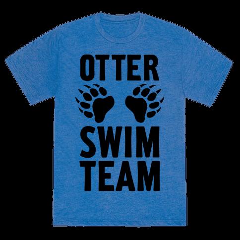 Otter Swim Team T Shirts Tank Tops Sweatshirts And