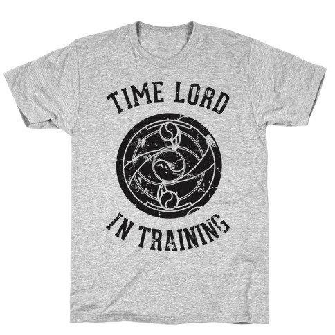 Time Lord In Training Mens T-Shirt