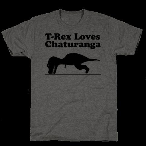 T-Rex Loves Chaturanga