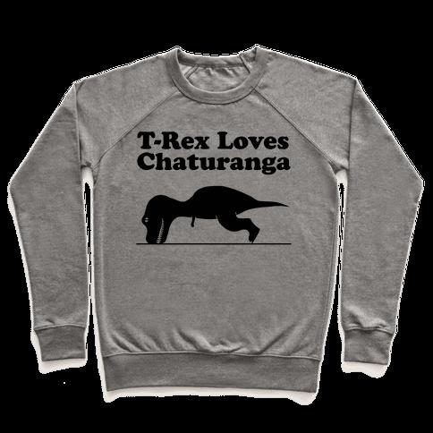 T-Rex Loves Chaturanga Pullover