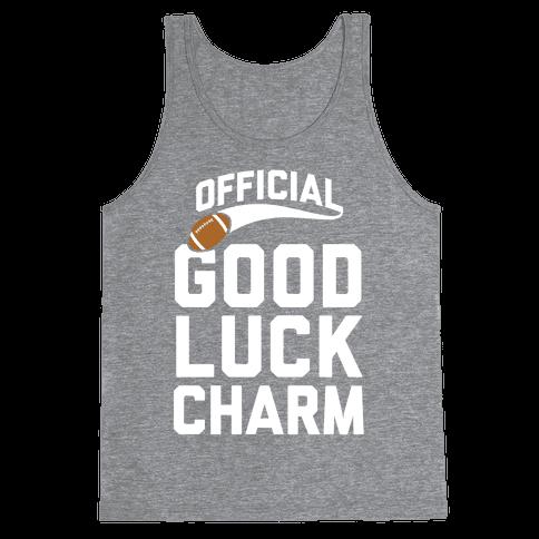 Football Good Luck Charm Tank Top