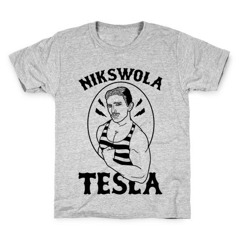 Nikswola Tesla Kids T-Shirt