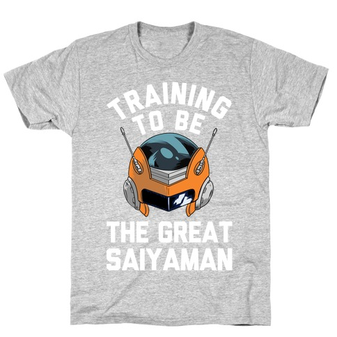 Training To Be The Great Saiyaman T-Shirt