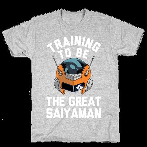 Training To Be The Great Saiyaman Mens T-Shirt