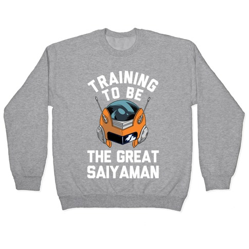 Training To Be The Great Saiyaman Pullover