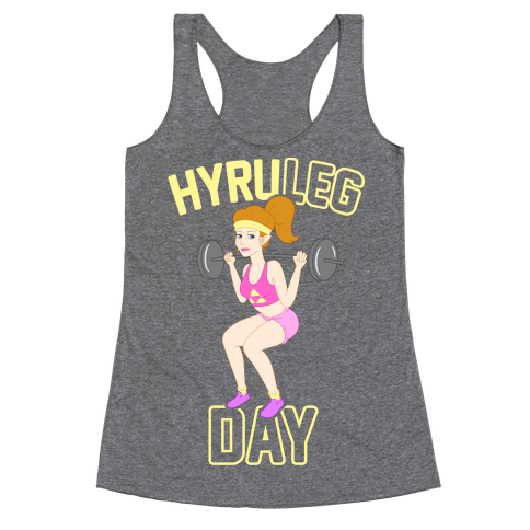 HyruLEG DAY Racerback Tank Top